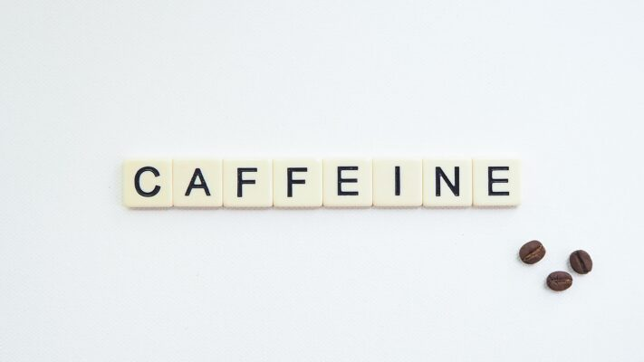 """game pieces ordered saying """"caffeine"""""""